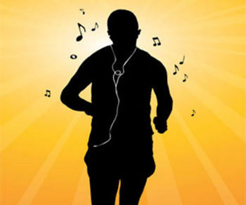 Listening music while running? Elevated Vata