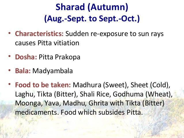 Sharad ऋतु