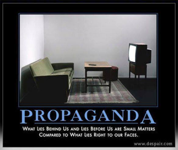 Save yourself from propaganda merchants