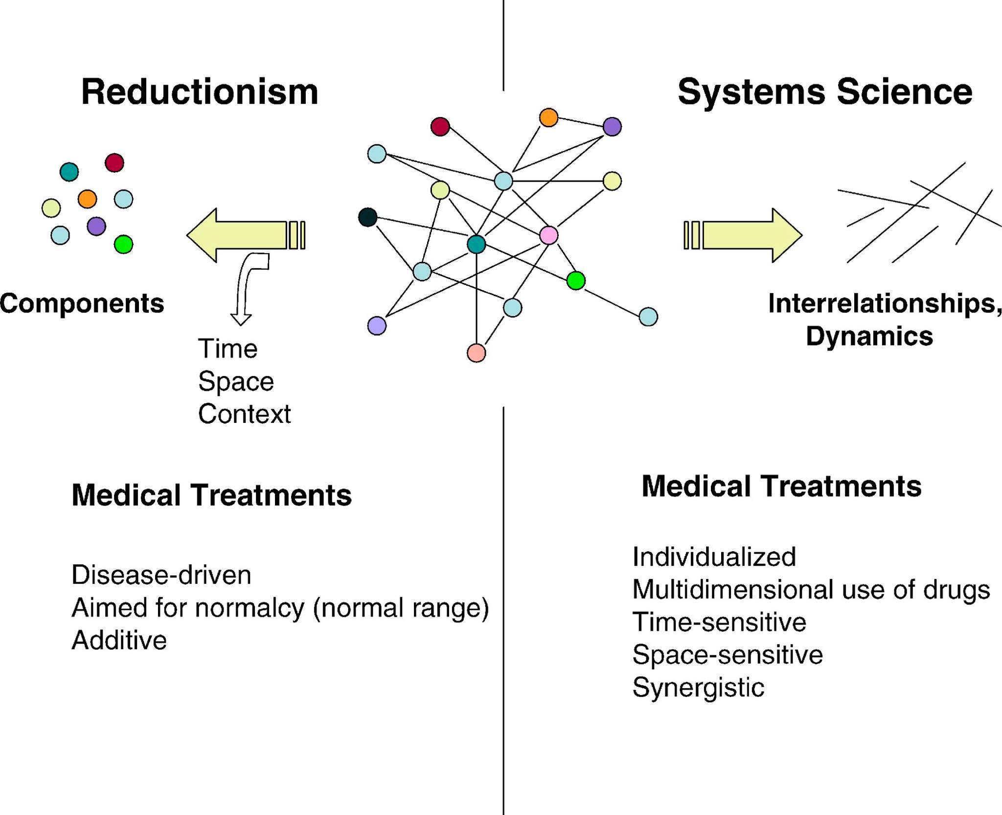 System vs Reductionist