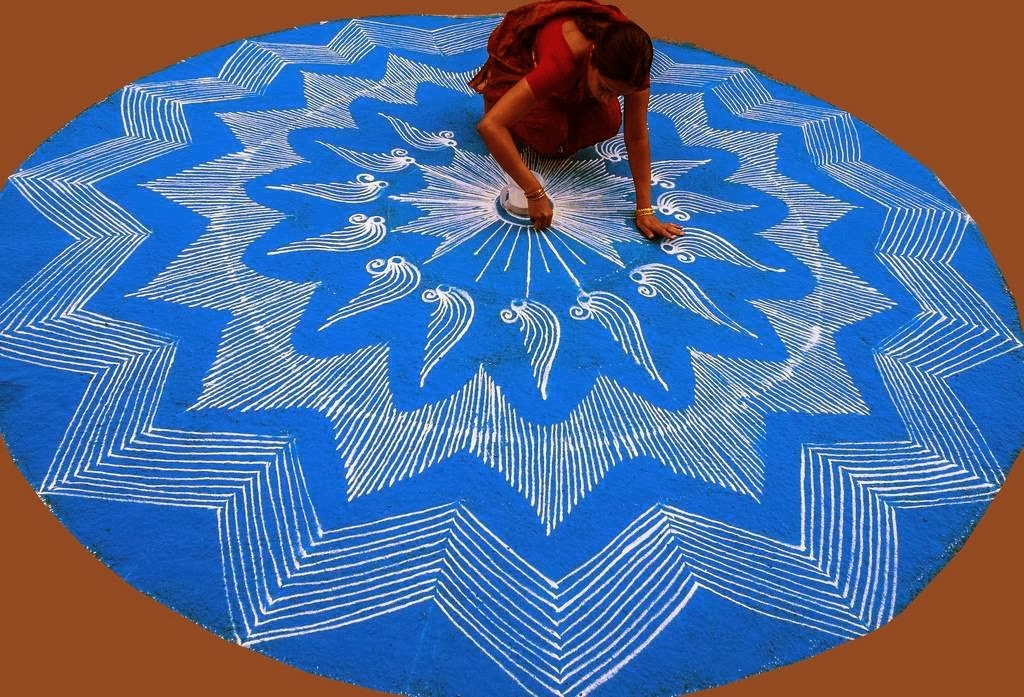 kolam rangoli india 22
