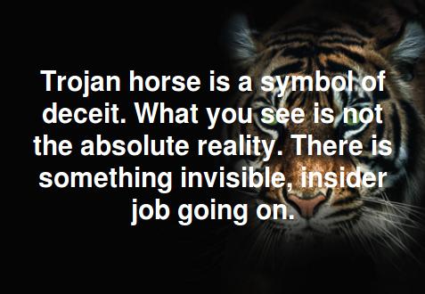 Modern Education is trojan horse.